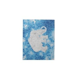Ice Age Blue Crystal Mammoth Personalized Invitations