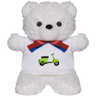 Art Gifts  Art Teddy Bears  Vespa 125 GTR Teddy Bear