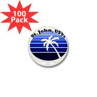 St. John USVI Mini Button (100 pack) for $125.00
