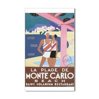 Monte Carlo Stickers  Car Bumper Stickers, Decals