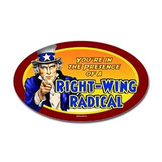 Right Wing Radical  RightWingStuff   Conservative Anti Obama T Shirts