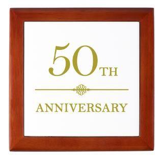 50Th Wedding Anniversary Keepsake Boxes  50Th Wedding Anniversary