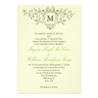 Wedding Invitation Wording: Wedding Invitation Wording And Etiquette