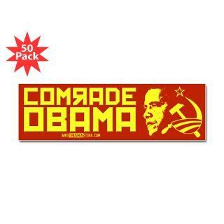 comrade obama bumper sticker 50 pk $ 135 99