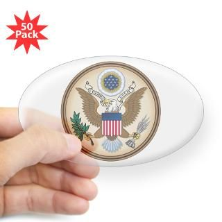 Presidents Seal Oval Sticker (50 pk) for $140.00