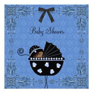 black blue baby shower invitations blue black baby shower invitations