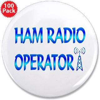 Ham Radio Button  Ham Radio Buttons, Pins, & Badges  Funny & Cool