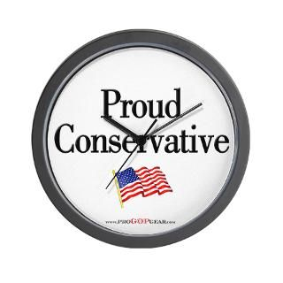 Proud Conservative  Republican Bumper Stickers & Conservative T