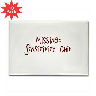 Missing: Sensitivity Chip Rectangle Magnet (10 pac