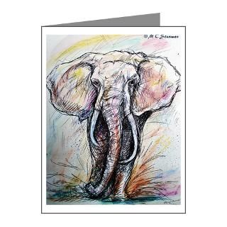 Endangered Species Thank You Note Cards