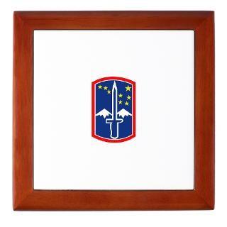 172Nd Infantry Brigade Keepsake Boxes  172Nd Infantry Brigade Memory