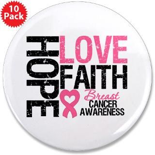 Breast Cancer Hope Love Faith T Shirts & Gifts  Shirts 4 Cancer