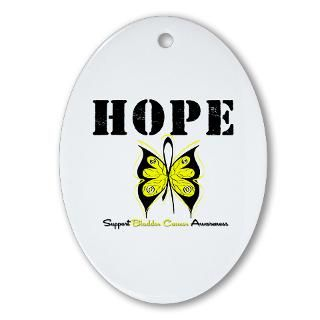 Hope Butterfly Bladder Cancer Shirts & Gifts  Shirts 4 Cancer