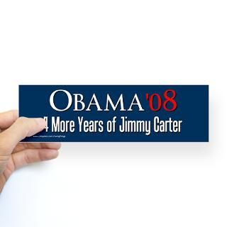 Jimmy Carter Stickers  Car Bumper Stickers, Decals