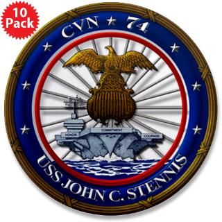 US Navy USS John C. Stennis CVN 7;4 T shirts, hats, cards, stickers