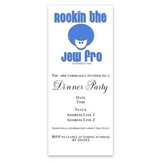 Rockin the Jew fro Invitations by Admin_CP2486300