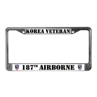 Korea Veteran License Plate Frame  Buy Korea Veteran Car License