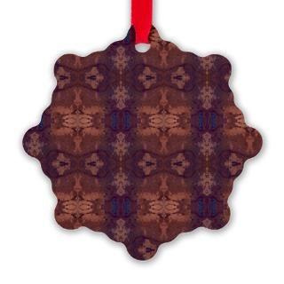 Deep Purple Christmas Ornaments  Unique Designs