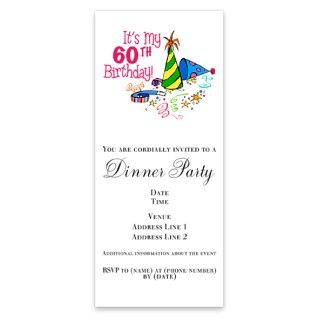 Its My 60th Birthday Party Hats Invitations By Admin CP4649722