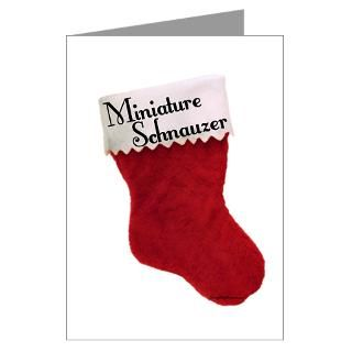 Miniature Schnauzer Christmas Greeting Cards  Buy Miniature Schnauzer