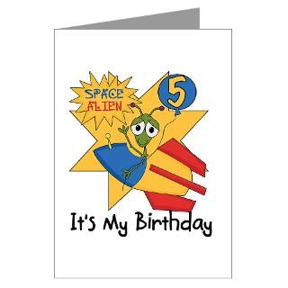 Alien Birthday Greeting Cards  Buy Alien Birthday Cards