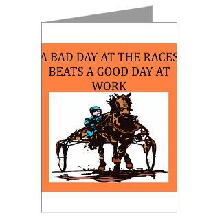 Harness Racing Greeting Cards  Buy Harness Racing Cards