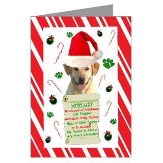 Yellow Labrador Christmas Greeting Cards  Buy Yellow Labrador