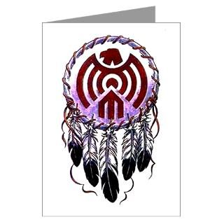 Native American Dreamcatcher Greeting Cards (Pk of for