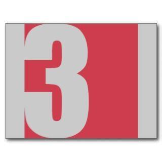 Square No. 3 Graphic Post Card