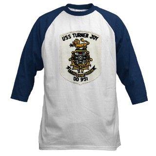 951 Gifts  951 T shirts  USS TURNER JOY Baseball Jersey