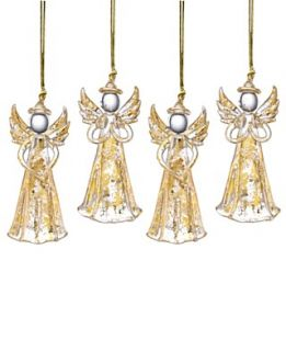 Lenox Christmas Ornaments, Set of 4 Gold Angels