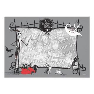 Nightmare Before Christmas Holiday Card Announcements