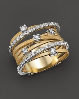 Marco Bicego Goa Collection 18 Kt. Gold and Diamond Ring