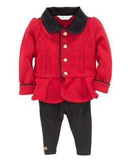 Ralph Lauren Childrenswear Infant Girls Fleece Jacket & Legging Set