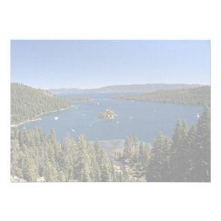Emerald Bay, Lake Tahoe, California, USA Personalized Invite