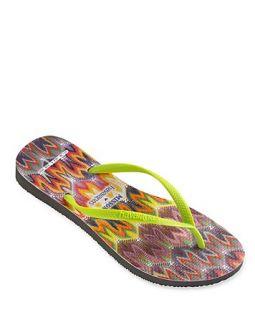 havaianas Flip Flops   Slim Missoni