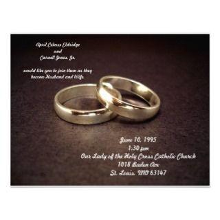 Catholic Wedding Invitations, Announcements, & Invites