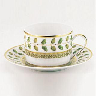 bernardaud constance tea cup price $ 114 00 color green gold quantity