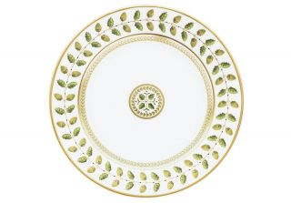 bernardaud constance dinner plate price $ 139 00 color green gold