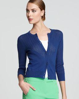 trina turk cardigan aneta price $ 198 00 color cabana blue size select