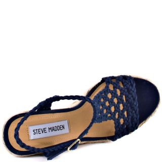 Steve Maddens Blue Manngo   Navy for 74.99