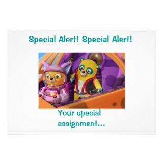 Special Agent Oso invites