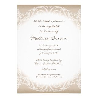 Stately Peacock w Swirl Branch Wedding Invitation