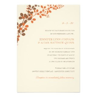 Printable Wedding Invitations, Announcements, & Invites