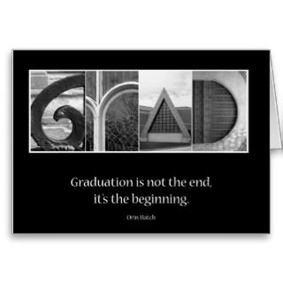 Graduation Quotes Greeting Cards, Note Cards and Graduation Quotes