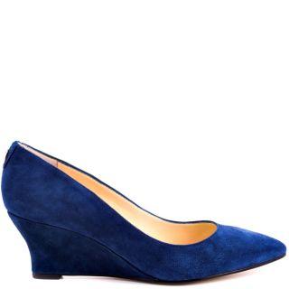 ivanka trump women s natale d blue suede $ 139 99