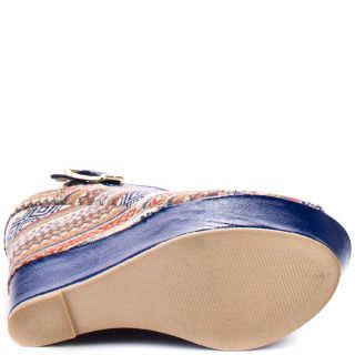 Kennyya   Blue Fabric, Steve Madden, $116.99
