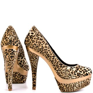 Just Fabulouss Multi Color Dasha   Leopard for 59.99