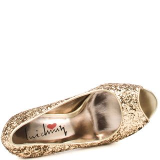 Kir Sten   Gold Rock Glitter, Luichiny, $89.99,