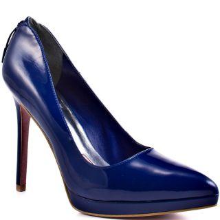 Paris Hiltons Blue Cheyanne   Royal Blue Suede for 109.99